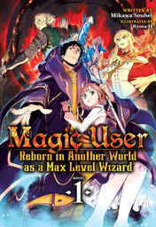 Magic User: Reborn in Another World as a Max Level Wizard Light Novel