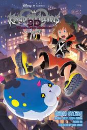 Kingdom Hearts 3D: Dream Drop Distance The Novel Light Novel