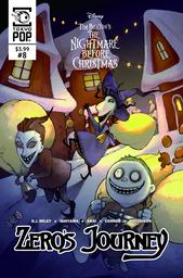 Disney Manga: Tim Burton's The Nightmare Before Christmas: Zero's Journey Issue #8