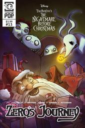 Disney Manga: Tim Burton's The Nightmare Before Christmas -- Zero's Journey Issue #13