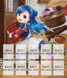Ascendance of a Bookworm Manga: Bookshelf Skin